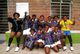Port Elizabeth, Kimberley and Cape Town, South Africa  Skillz Street is an unprecedented program that gives girls in South Africa the chance to play in girls-only soccer leagues while giving valuable life skills and life-saving HIV prevention education. Skillz Street will help empower girls and reverse entrenched gender roles, which is key to combating the AIDS epidemic in South Africa.