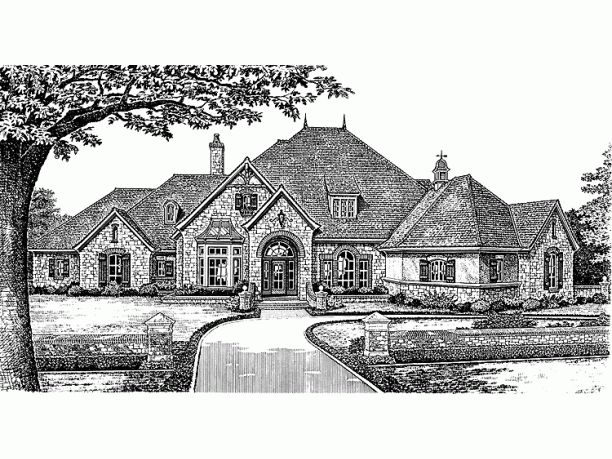 1000 images about house elevations on pinterest french for French country elevations