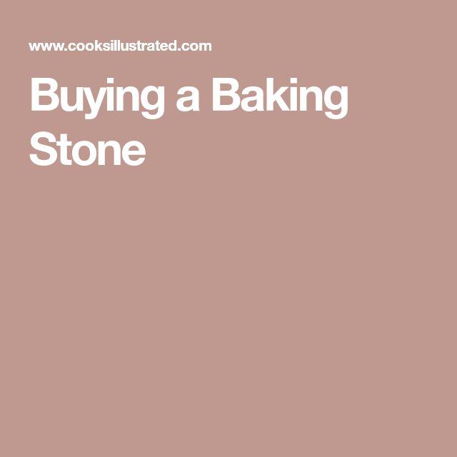 Buying a Baking Stone