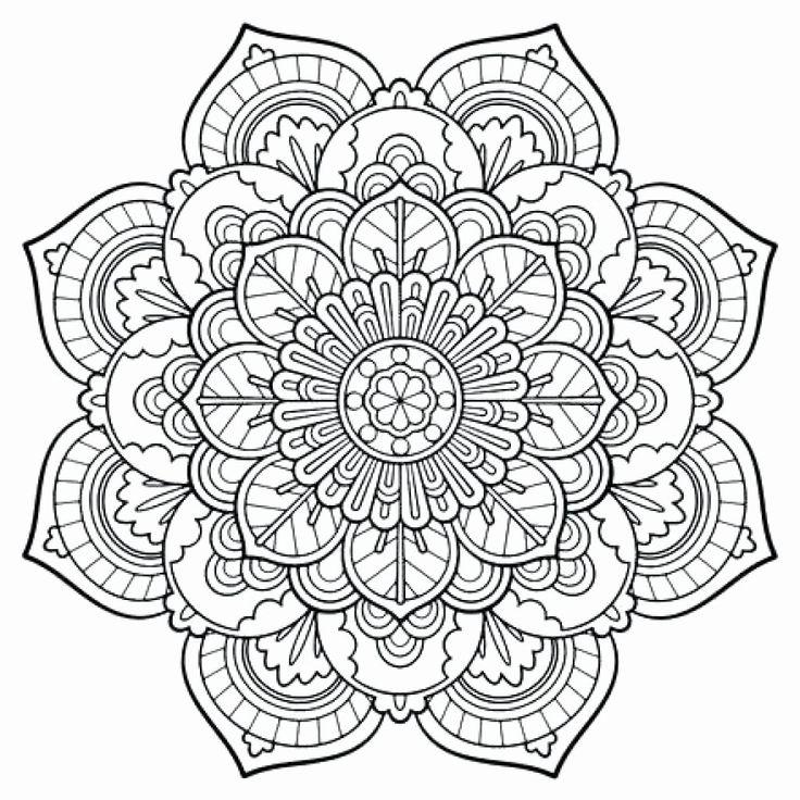 Nature Mandalas Coloring Book Pdf en 2020 | Mandala à ...
