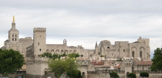 The Avignon Papacy: Palace of the popes at Avignon