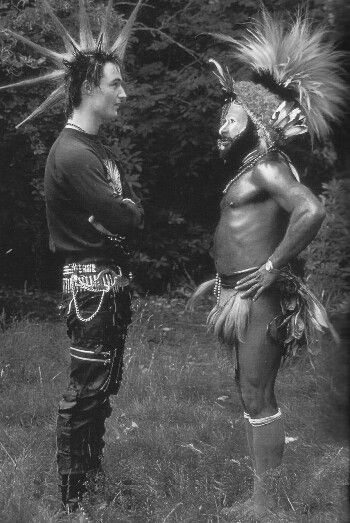 tribal | punk | difference | similarity | tribe | mohawk | hair | expression | awesome| culture