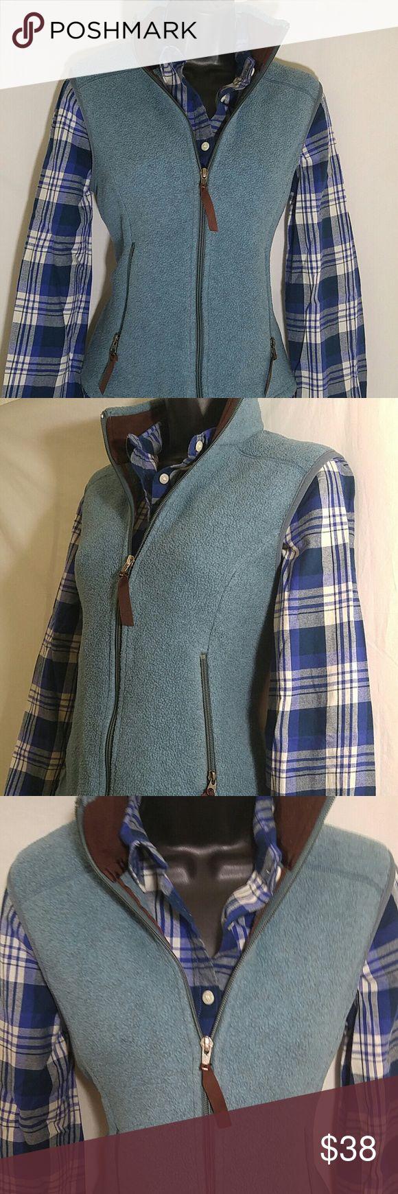 Selling this PATAGONIA SYNCHILLA Light Blue Vest Size S on Poshmark! My username is: 7thvintage. #shopmycloset #poshmark #fashion #shopping #style #forsale #Patagonia #Jackets & Blazers