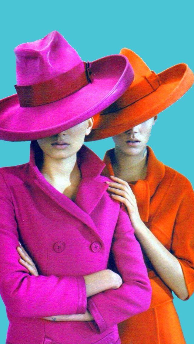 Fashion Flashback: Lily and Freja in British Vogue