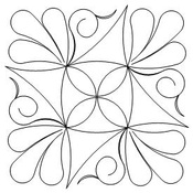 Friendship Star block. This site has tons of quilting designs. But they are all programs/ exc for machine quilting. I want to hand quilt this one.