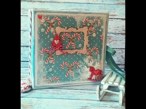 Mini Album - *Under The Christmas Tree...* (MakaArt) #2 - YouTube