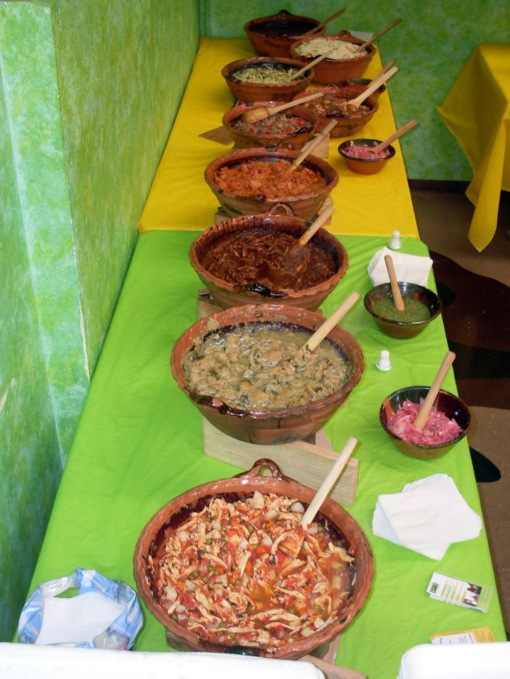 Taquizas, Pozole, Desayunos - Les Fontaines Mere
