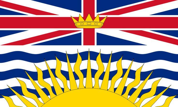 Flag of British Columbia, Canada