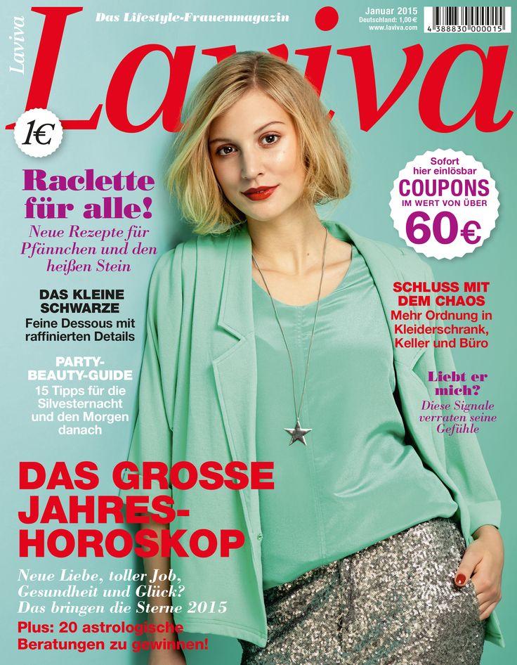 Cover der LAVIVA 01/15
