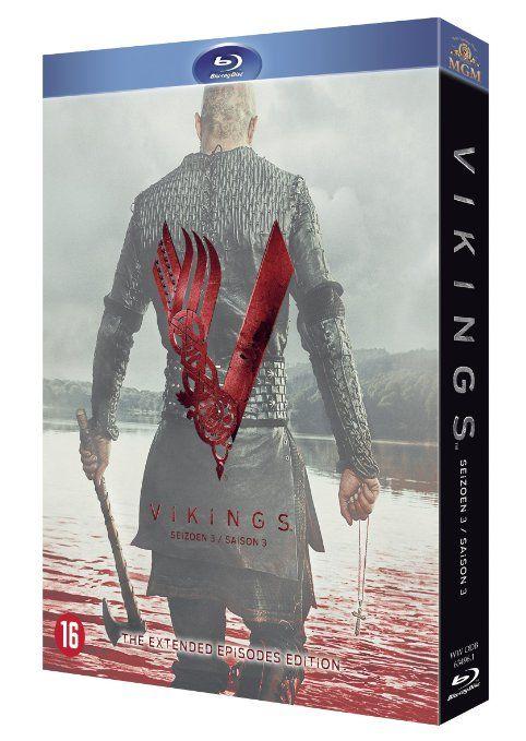 Vikings - Saison 3 [Blu-ray] [Import belge]