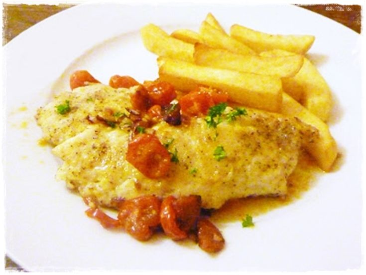 Food Pairing ~ 3 Sudden Dinners e.g. this haddock baked with leftovers from the fridge!