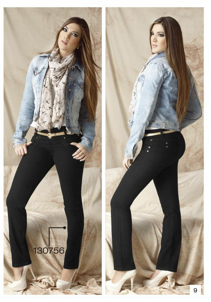 pantalon-de-drill-bota-tubo-color-negro - Sexy, yet Casual #Fashion #sexy #woman #womens #fashion #neutral #casual #female #females #girl #girls #hot  #hotlooks #great #style #styles #hair #clothing  www.ushuaiajean.com.co