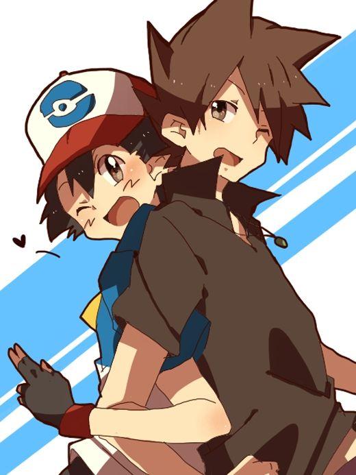 Satoshi pokemon google search palletshipping shigeru satoshi gary ash pok mon d - Image de personnage de manga ...
