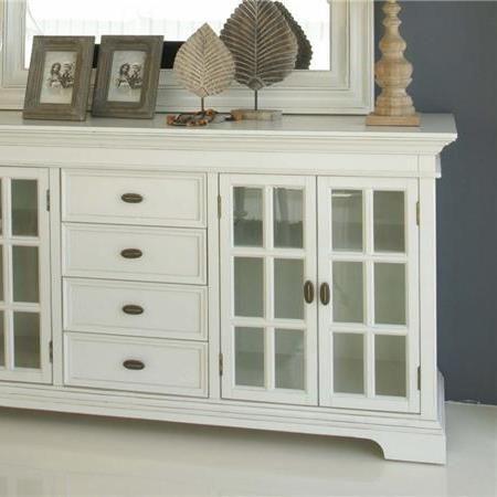 Aparador blanco o de madera natural muebles pinterest for Natura muebles