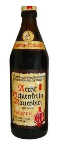 Cerveja Aecht Schlenkerla Rauchbier Märzen, estilo Rauchbier, produzida por , Alemanha. 5.1% ABV de álcool.