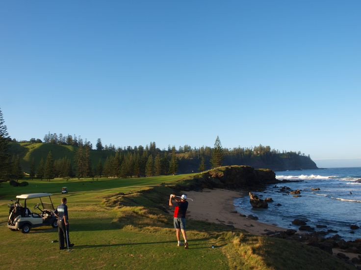 Norfolk Island Hardy's Golf Classic held each year in August - a great week of fun, mates, golf and time at the watering hole.