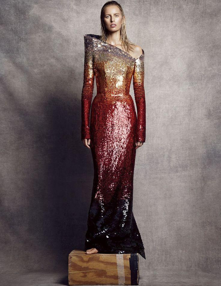 la gran belleza: karolina kurkova by nico for vogue spain october 2014   visual optimism; fashion editorials, shows, campaigns & more!