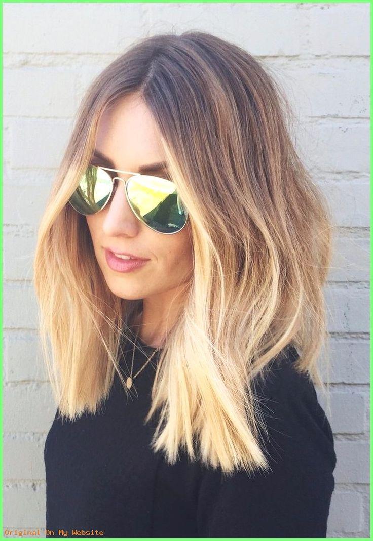 Mittellange Haare Frisuren Neue Frisuren 2017 Ombre Blond Fur