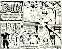Bella the gymnast, I remember this serial really well and the artist that drew her did a lot of stories in these comics