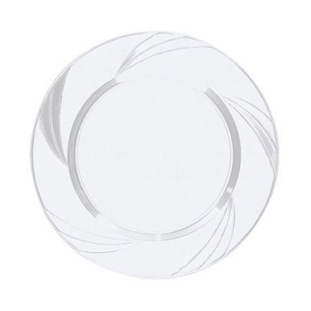 save on nice fancy newbury cute clear plastic china like salad plates that look pretty real for holiday catering u0026 weddings on a budget