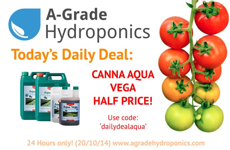 50% OFF - Canna Aqua A/B Sets, all sizes! Most popular nutrients around now even cheaper!