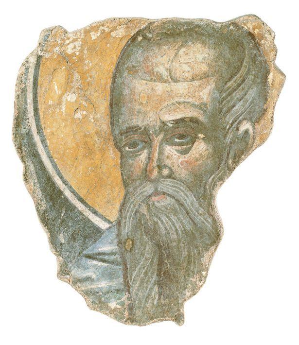 Κεφαλή αγίου, 16ος αιώνας. Μονή Κωνσταμονίτου, Άγιον Όρος