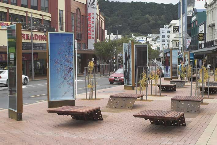 Courtney Place, Wellington, New Zealand - night life is great here too.