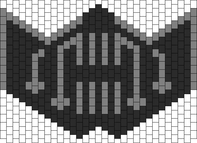 Bane Mask bead pattern