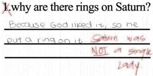 These Test Answers Are Completely Wrong But Genius at the ...