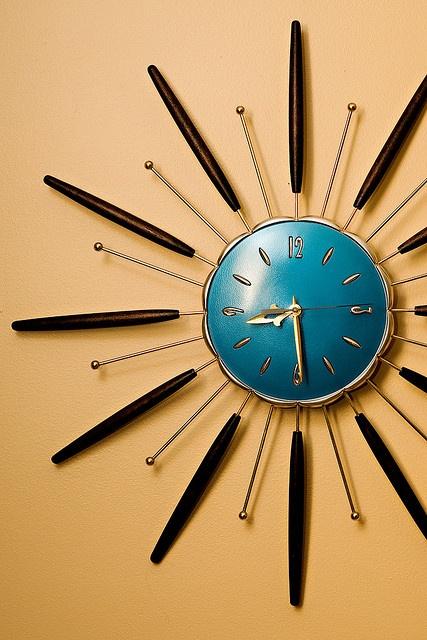 368 best Retro Clocks - Home Decor images on Pinterest | Vintage ...