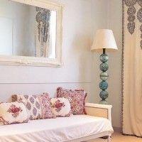 Espejos en sala de estar pequeñas