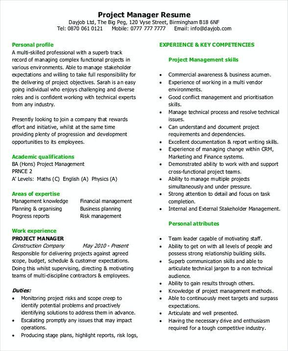 Project Manager Resume Example , Bank Branch Manager Resume , This Bank Branch  Manager Resume Is Beneficial For Those Who Want To Apply For The Position.  Branch Manager Resume