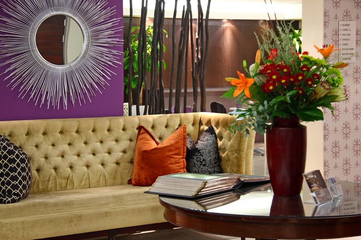 The Hyde Hotel reception