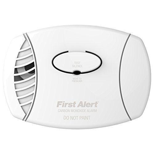 First Alert Carbon Monoxide Plug-In Alarm with Battery Backup Smoke Gas Detector #FirstAlert