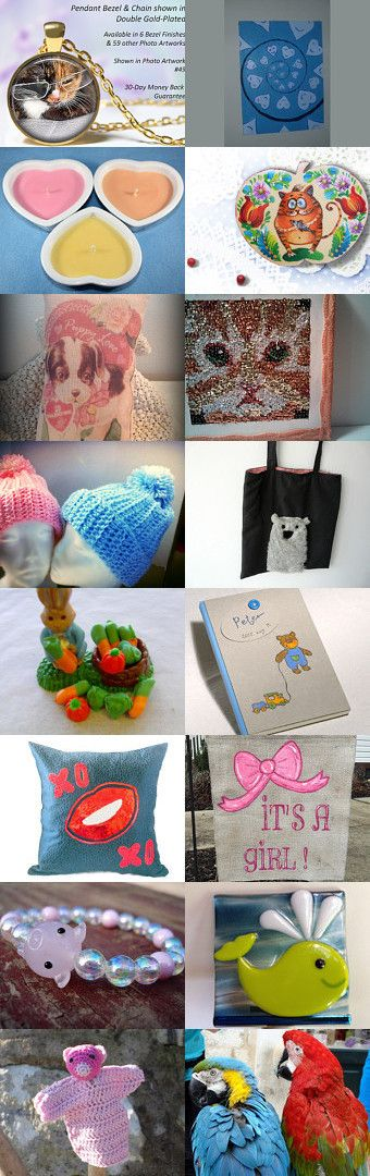 Cute And Adorable In The HPT Team by Deena and Meranda on Etsy--Pinned with TreasuryPin.com