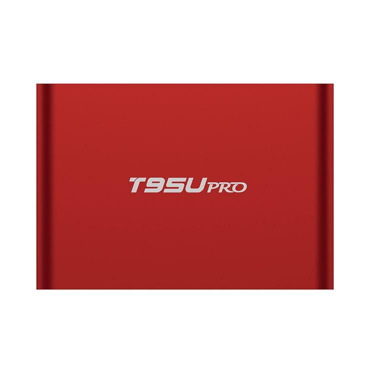 T95U PRO 2GB 16GB Android 6.0 Smart TV BOX Amlogic S912 Octa Core 64-bits Support KODI H.265 UHD 4K Media Player