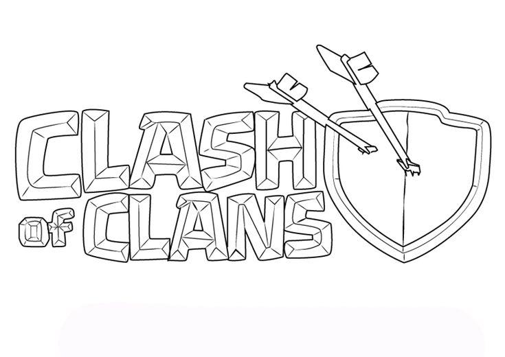 ausmalbilder clash of clans  ausmalbilder ausmalbilder