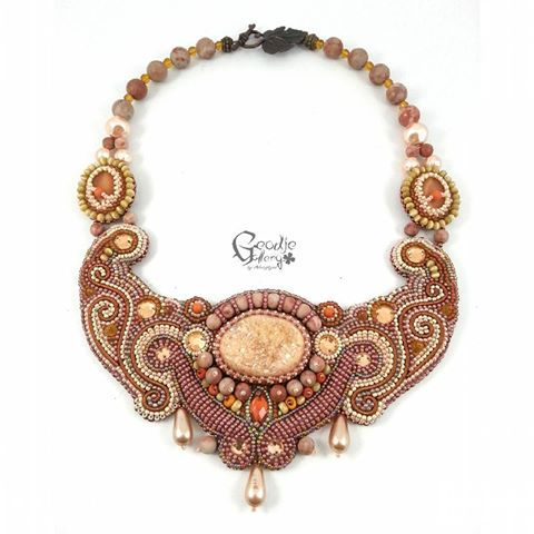 Beaded&Bead Embroidery Jewelry (@geodje_gallery)   Instagram photos and videos