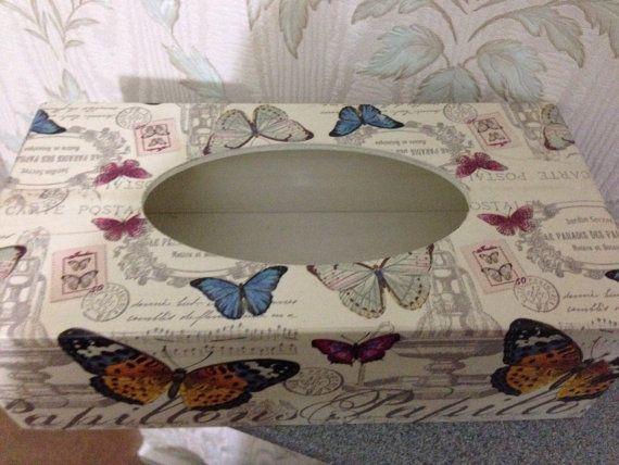 Beautiful tissue box cover
