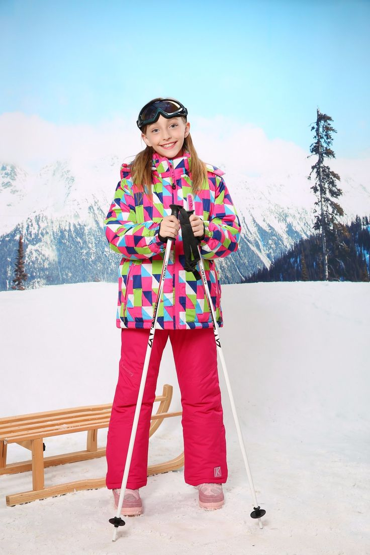 >> Click to Buy << 017 New Children's Winter Clothing Set  GIRLS Skiing Suit Snowboarding Jacket And Pants Quality Kids Ski Wear Twinset HX092223 #Affiliate