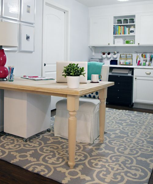 office kitchen tables. iheart organizing diy farmhouse tabledesk tutorial office kitchen tables