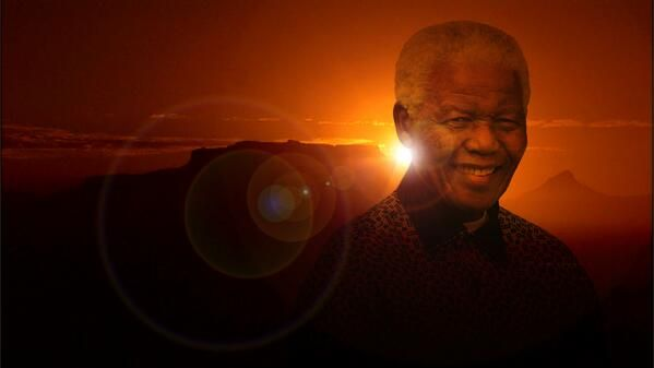 The sun set on Nelson Mandela but his legacy will live on
