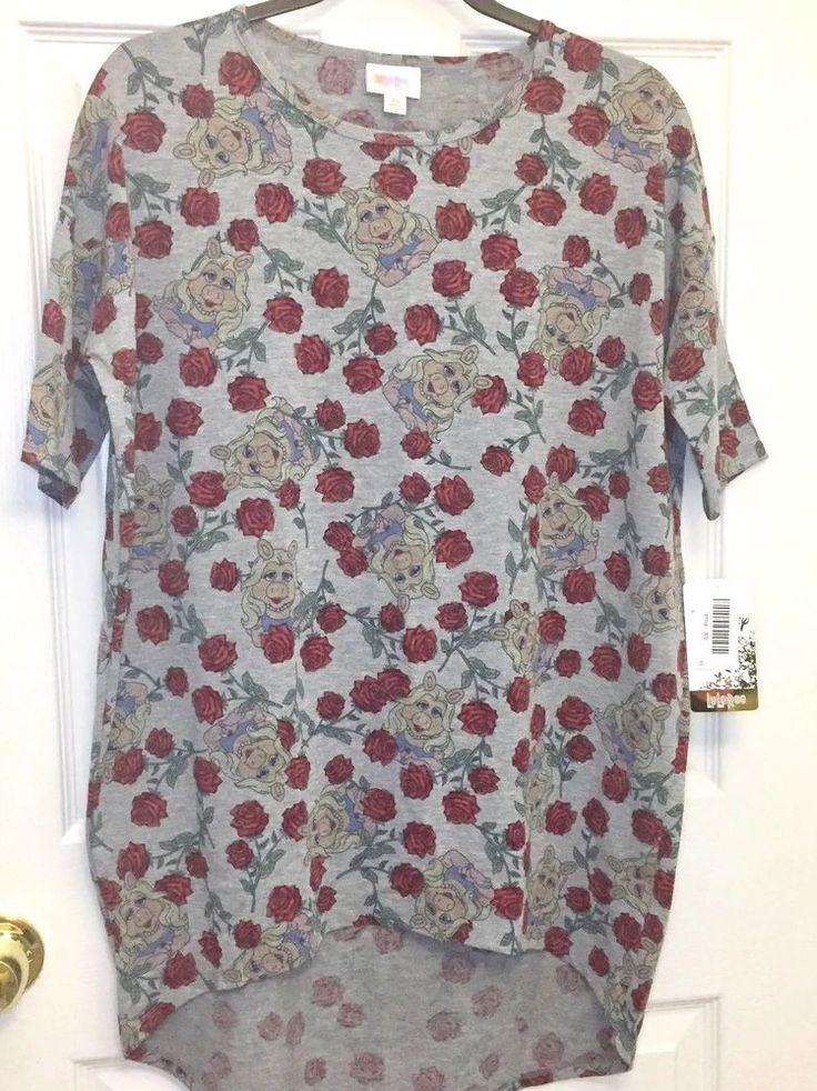 NWT LuLaRoe Irma Size XS Extra Small Miss Piggy Muppets Shirt Tunic   | eBay