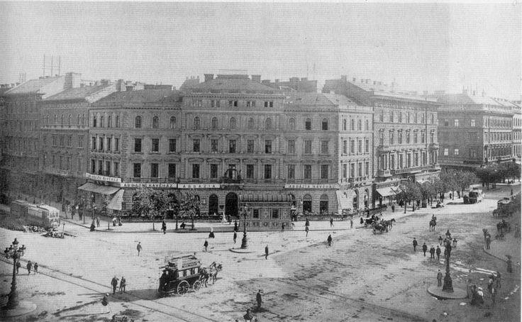 budapest 1900 | Budapest 1900 - Octogon, Abbazia Cafe