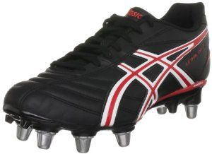ASICS LETHAL DRIVE Rugby Boots by ASICS. $56.86. Forefoot Full grain leather - Providing unbeatable support, comfort and power.. Lightweight - Injection PU out-sole.. Rear foot SoLyte - In the midsole to give you the best comfort and cushioning for your feet. Solyte is a proprietary cushioning material that provides an exceptionally lightweight midsole with excellent bounce-back and durability.. HG 10mm gradient - In the heel shifts your body mass forwards reducing st...