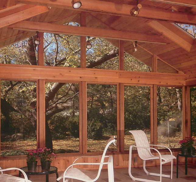 33 Best Images About Sunroom On Pinterest Cedar Homes