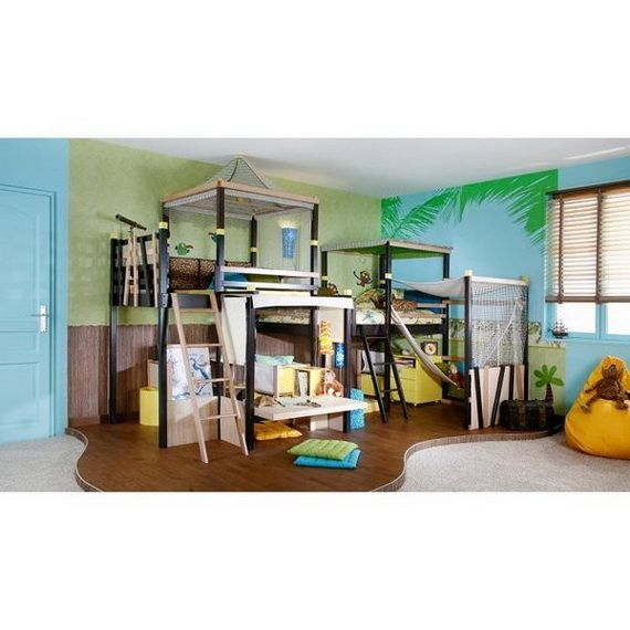 25 Awesome Shared Bedroom Ideas For Kids: 16 Best Epic Bedrooms For Kids Images On Pinterest
