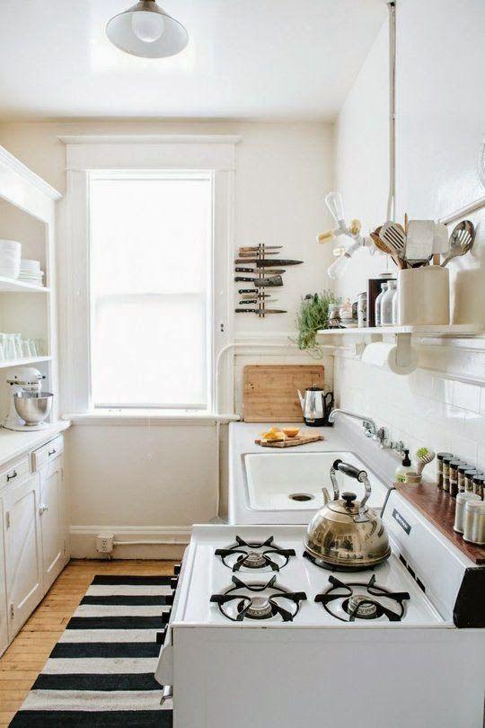 Małe jest piękne - 22 sposoby jak gustownie urządzić małą kuchnię