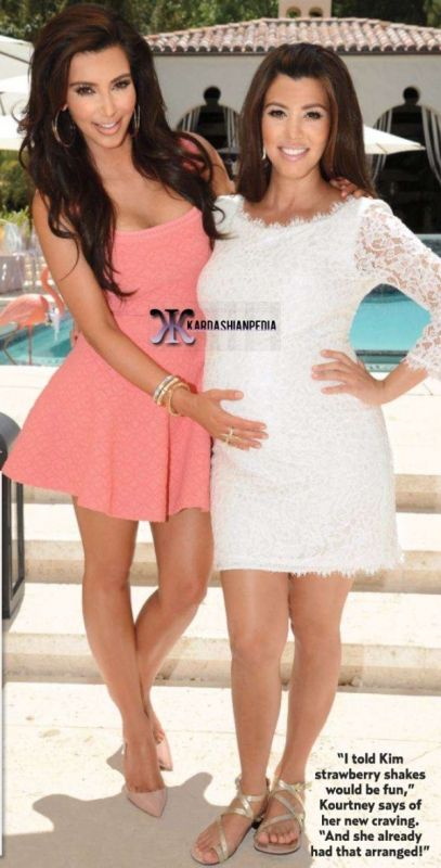 Kourtney's Baby Shower May 12, 2012 | Looks - Dresses ...