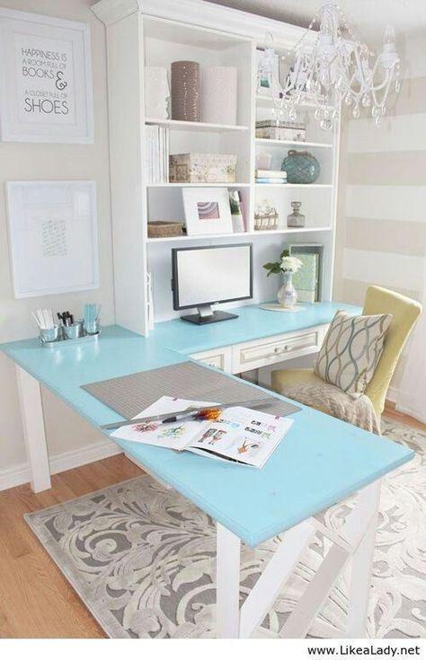 Blauw wit Huiswerk bureau krijt bord verf  blauw met krijt stift  Voor notities.